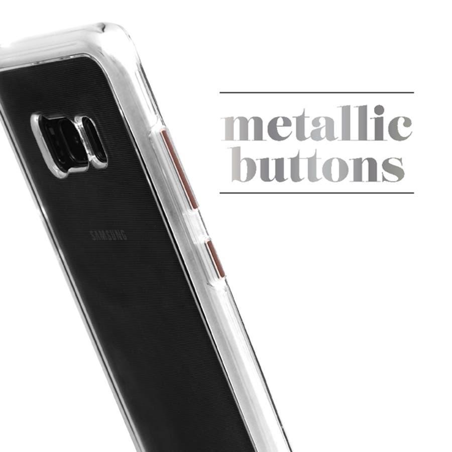 Galaxy S8対応ケース Waterfall-Rose Gold 2