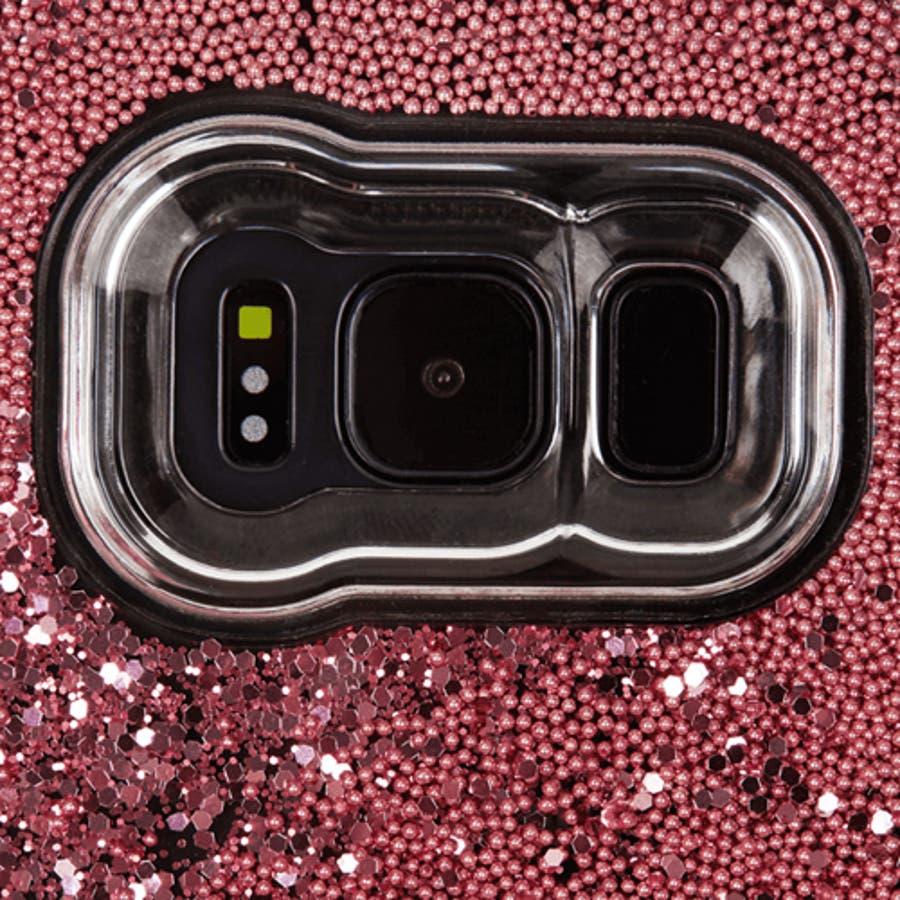 Galaxy S8対応ケース Waterfall-Rose Gold 4
