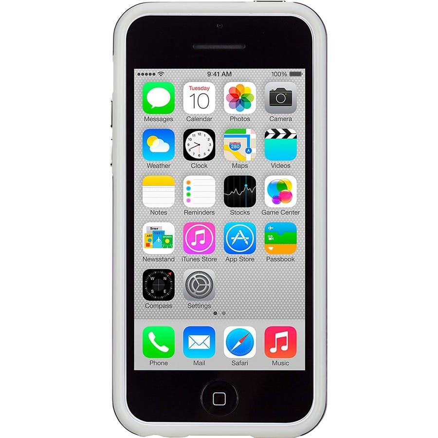 iPhone 5c 対応ケースHybrid Tough Naked Case, Clear Purple / White 5