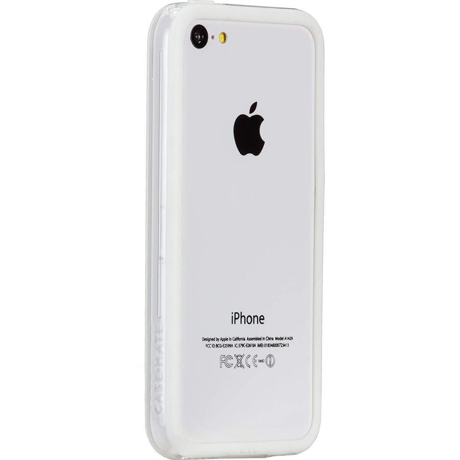 iPhone 5c 対応ケースHula, White 1