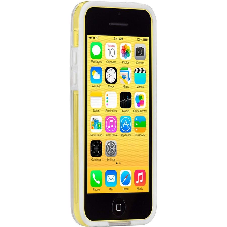 iPhone 5c 対応ケースHula, White 2