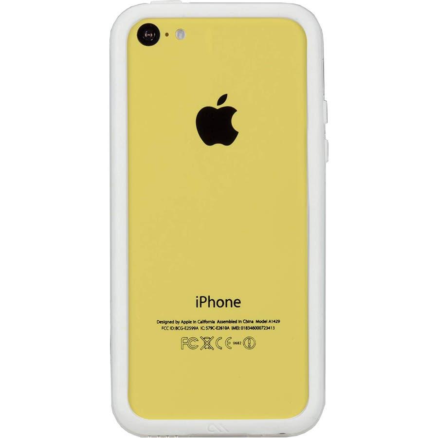 iPhone 5c 対応ケースHula, White 3