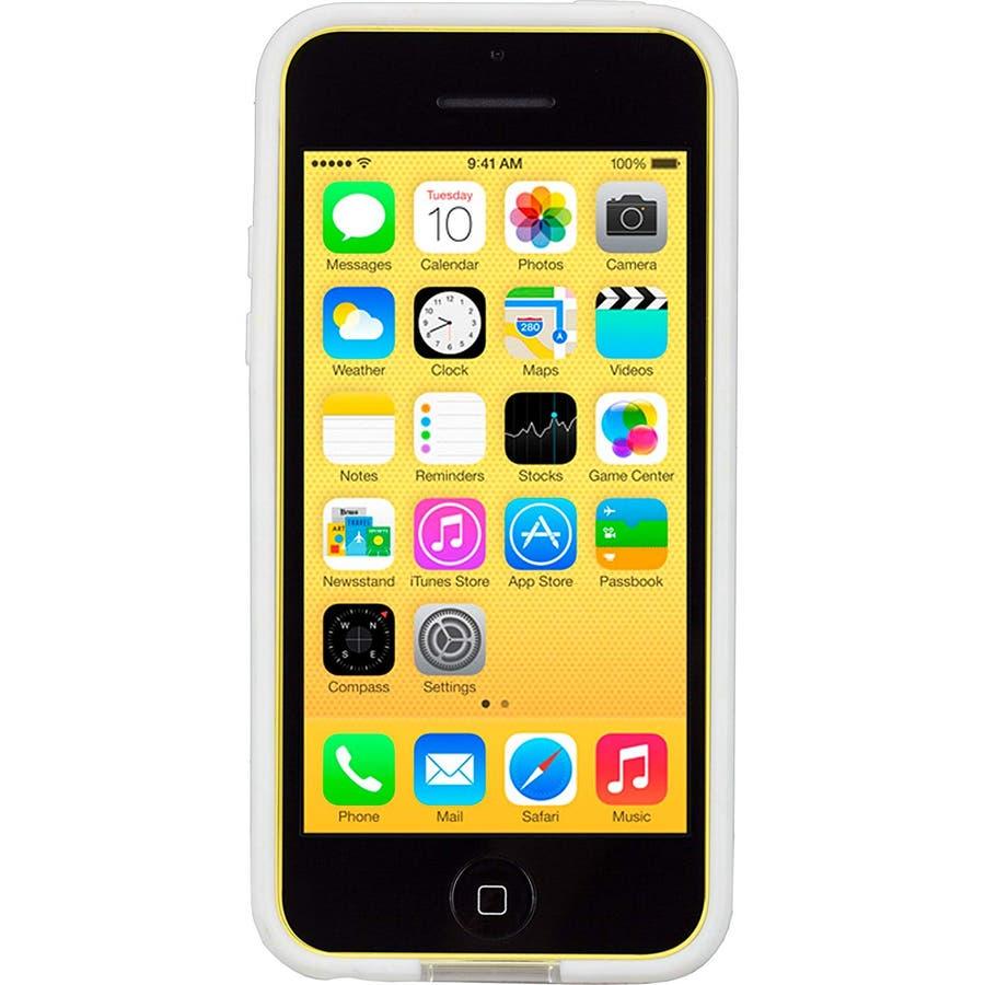 iPhone 5c 対応ケースHula, White 4