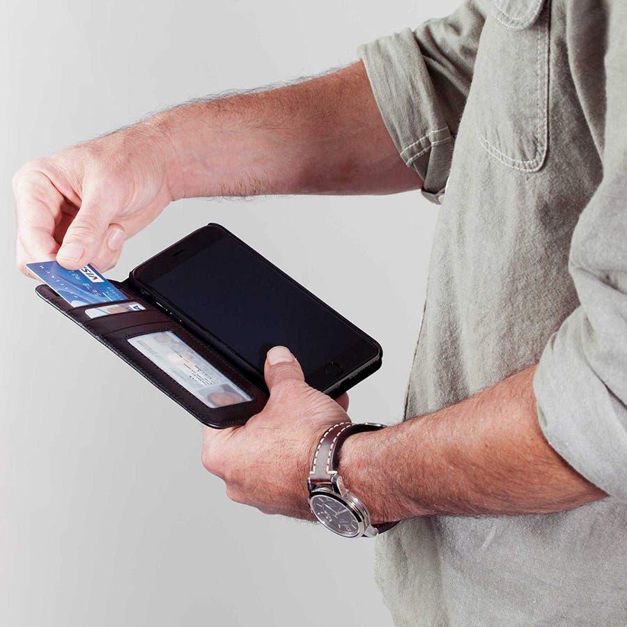 iPhone6s Plus/6 Plus 対応ケース Wallet Folio Case Black 4