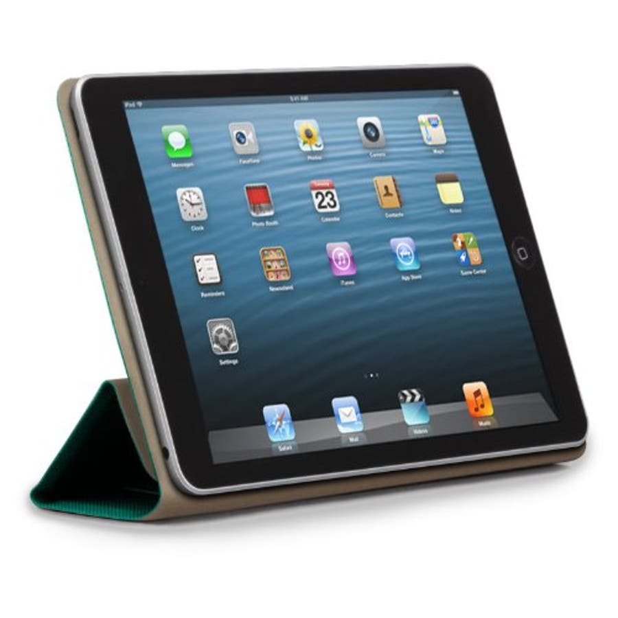 iPad mini 3/2/1 対応ケース Textured Tuxedo Case, Emerald Green 4