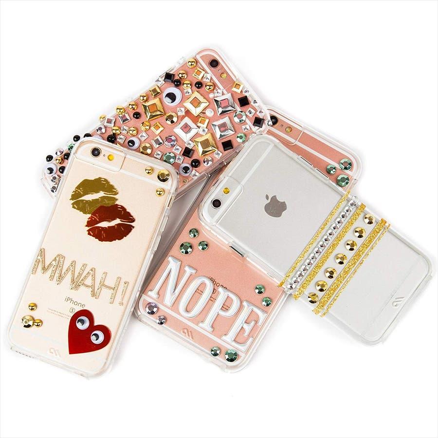 iPhone SE(第2世代) / iPhone8 対応 Hybrid Naked Tough Custom Case 4