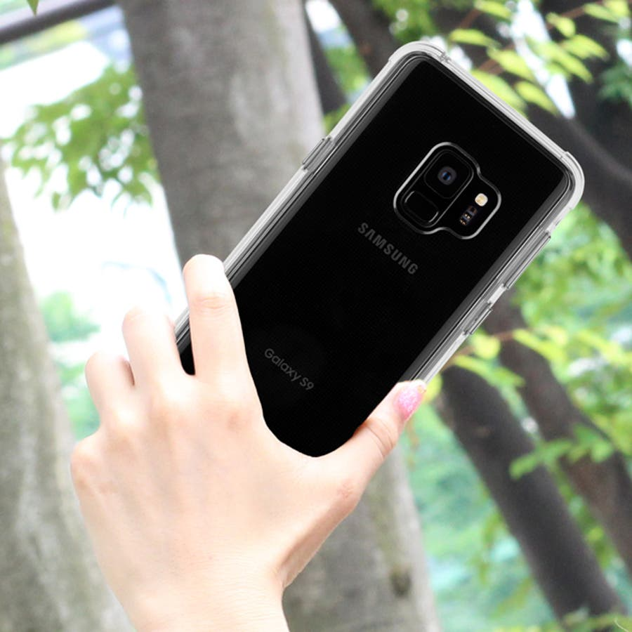 Galaxy S9 対応ケース Tough - Clear 1
