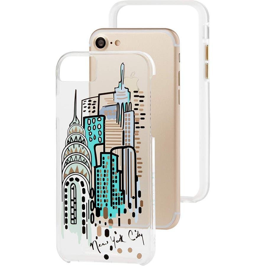 c2fa7b0131 iPhone8 / 7 / 6s / 6 対応ケース Tough City Print NY City View[品番 ...
