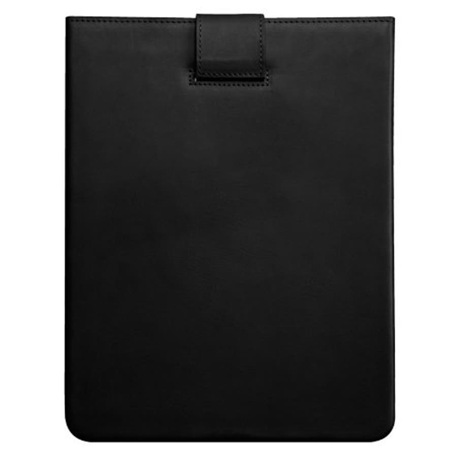 iPad 2〜4世代 対応ケース Leather Signature Sleeve Case, Black 2