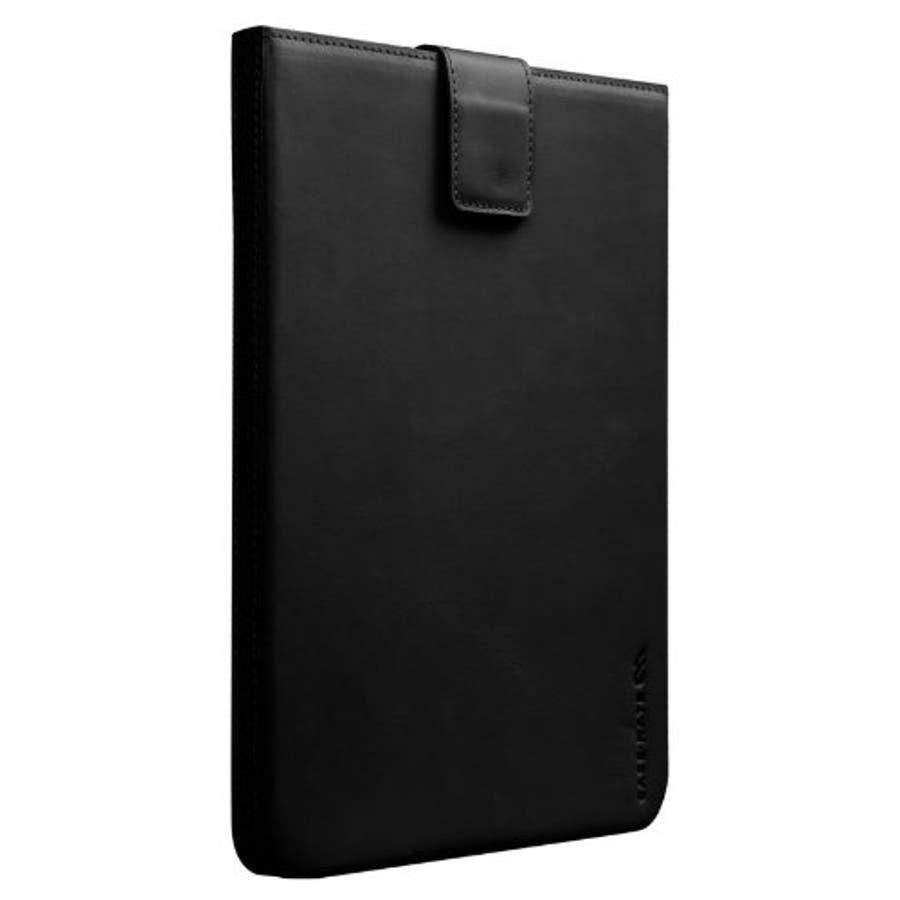 iPad 2〜4世代 対応ケース Leather Signature Sleeve Case, Black 4