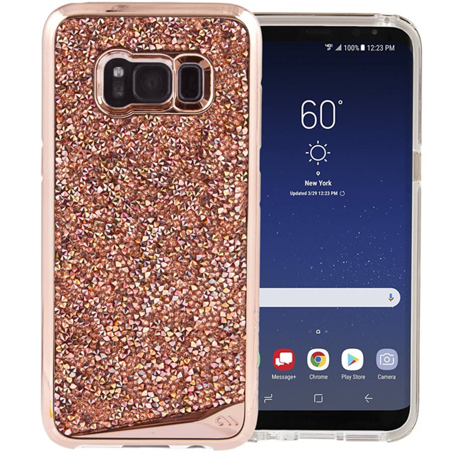 Galaxy S8対応ケース Brilliance-Rose Gold 1