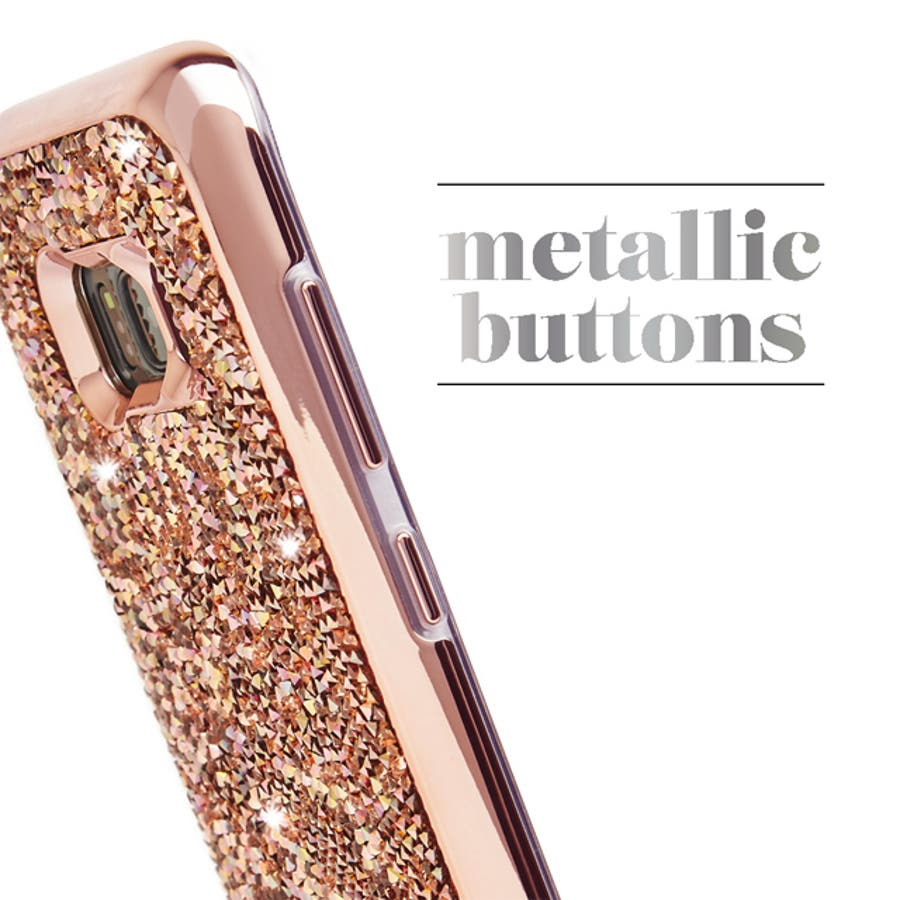 Galaxy S8対応ケース Brilliance-Rose Gold 3