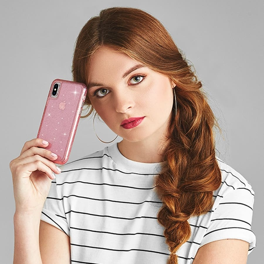 iPhoneXR対応ケース Sheer Crystal-Blush 8