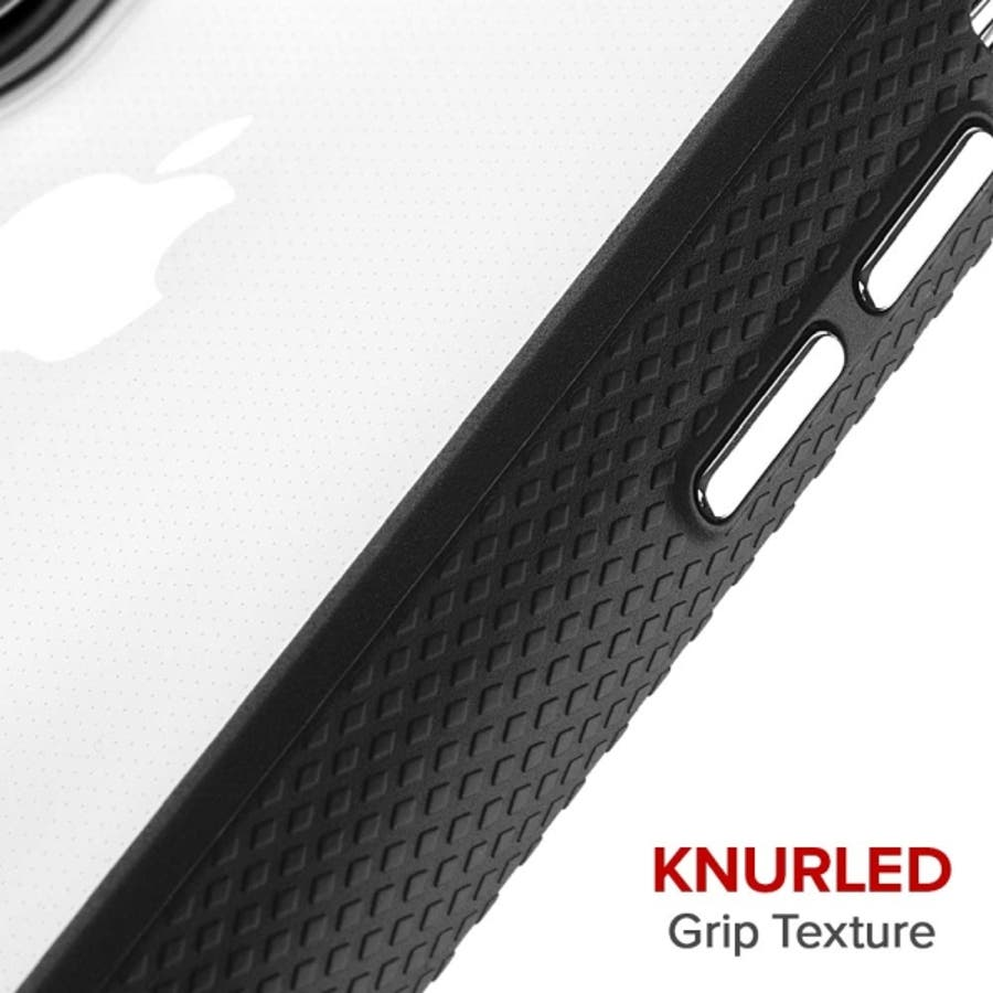 iPhoneXR対応ケース Protection Collection-Clear/Black 2