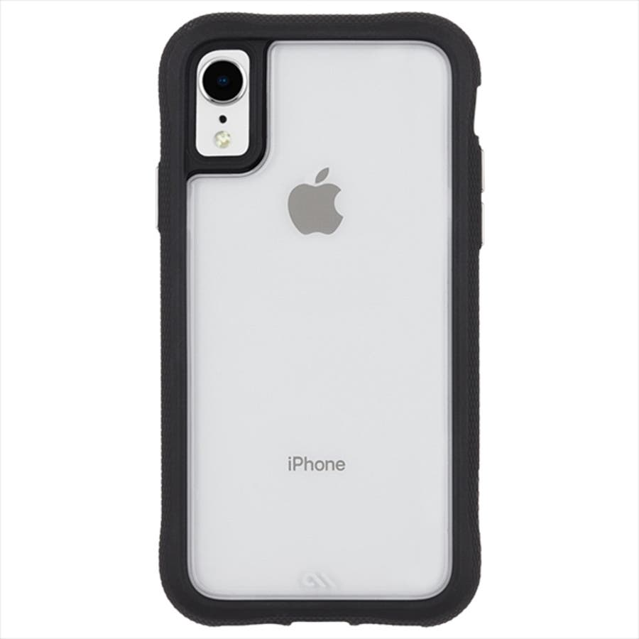 iPhoneXR対応ケース Protection Collection-Clear/Black 4