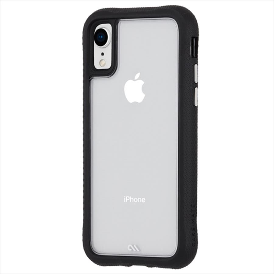 iPhoneXR対応ケース Protection Collection-Clear/Black 5