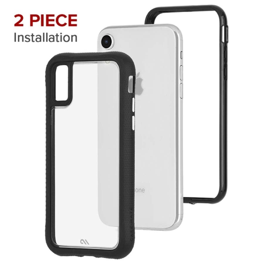 iPhoneXR対応ケース Protection Collection-Clear/Black 6