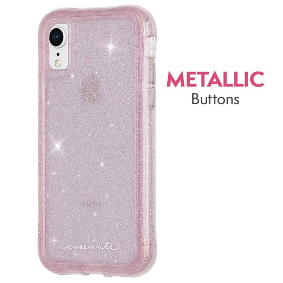 iPhoneXR対応ケース ProtectionCollection Sheer-Crystal-Blush 3