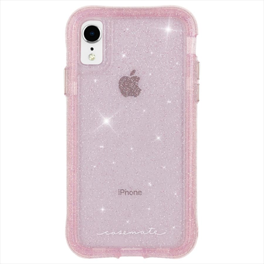 iPhoneXR対応ケース ProtectionCollection Sheer-Crystal-Blush 4