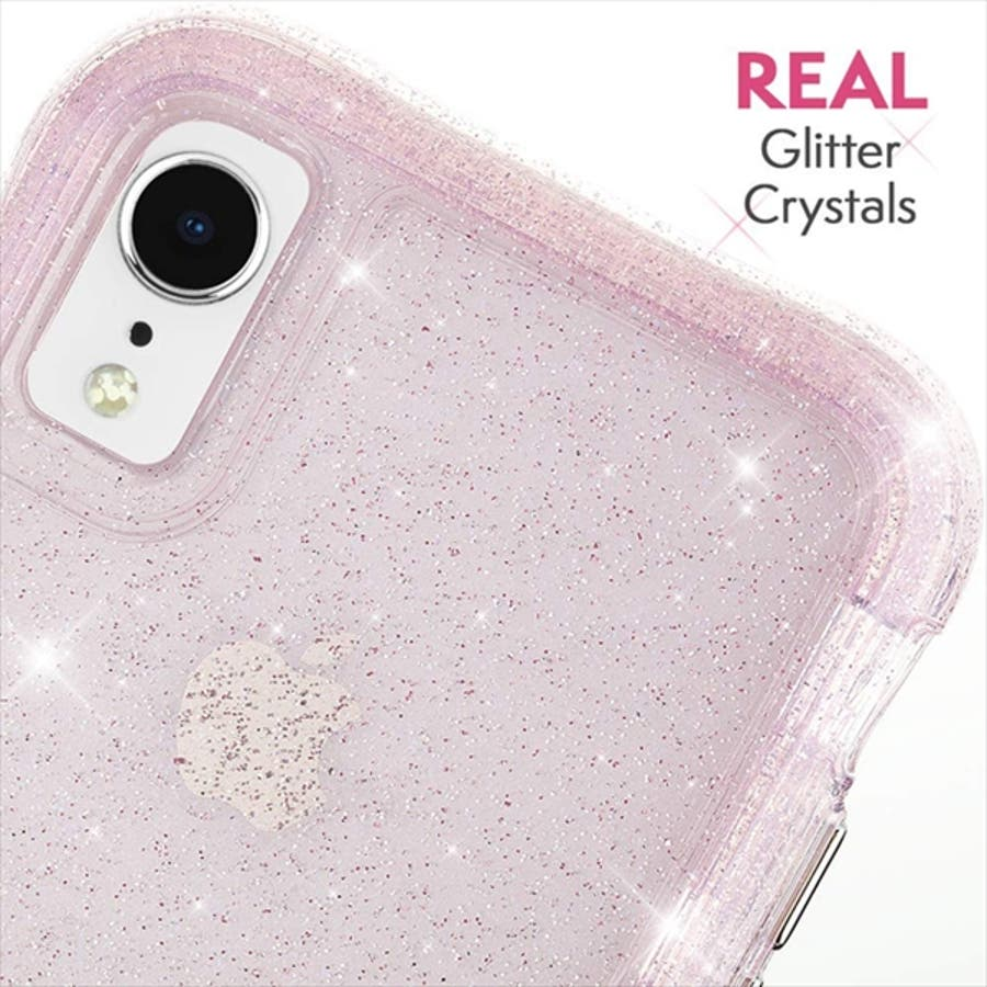iPhoneXR対応ケース ProtectionCollection Sheer-Crystal-Blush 5