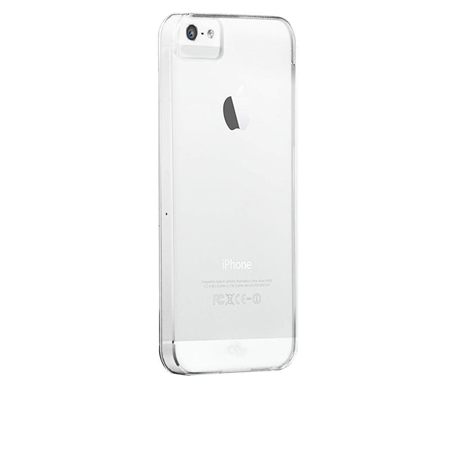 iPhone SE/5s/5 対応ケース Ultra Thin Barely There Case, Clear 1