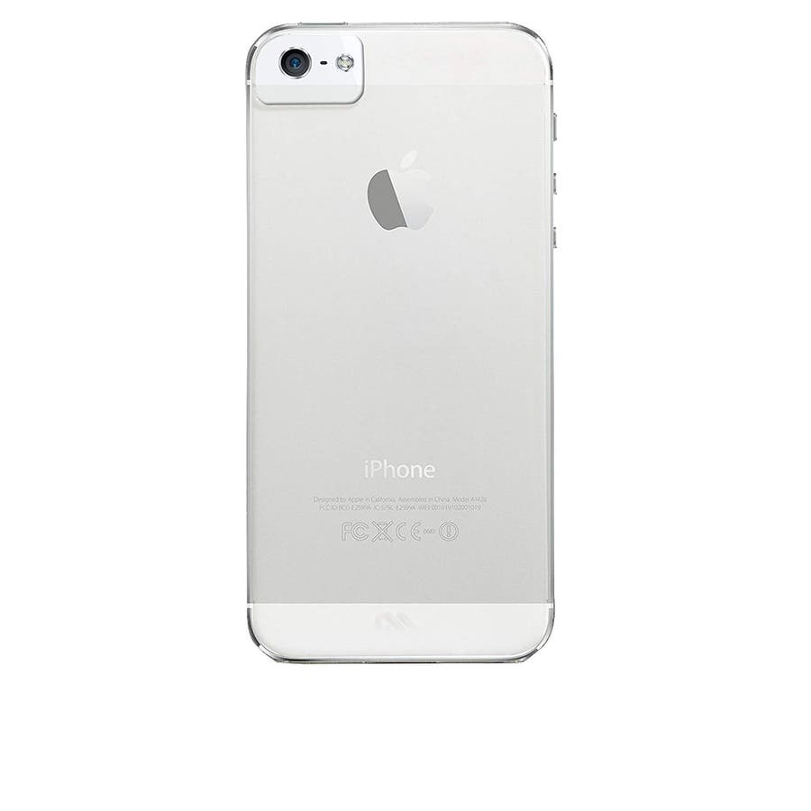 iPhone SE/5s/5 対応ケース Ultra Thin Barely There Case, Clear 2