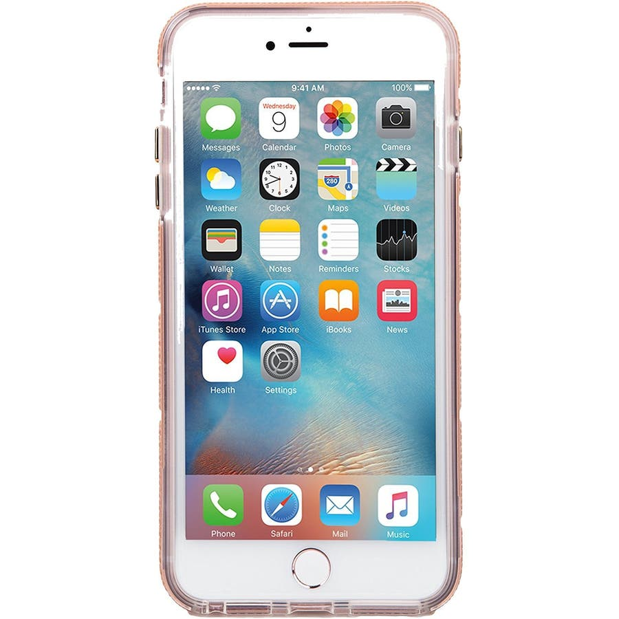 iPhone8 Plus 対応ケース Tough Mag Case -Rose Gold / Clear 4