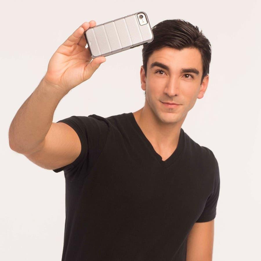 iPhone8 Plus 対応ケース Tough Mag Case -Rose Gold / Clear 5