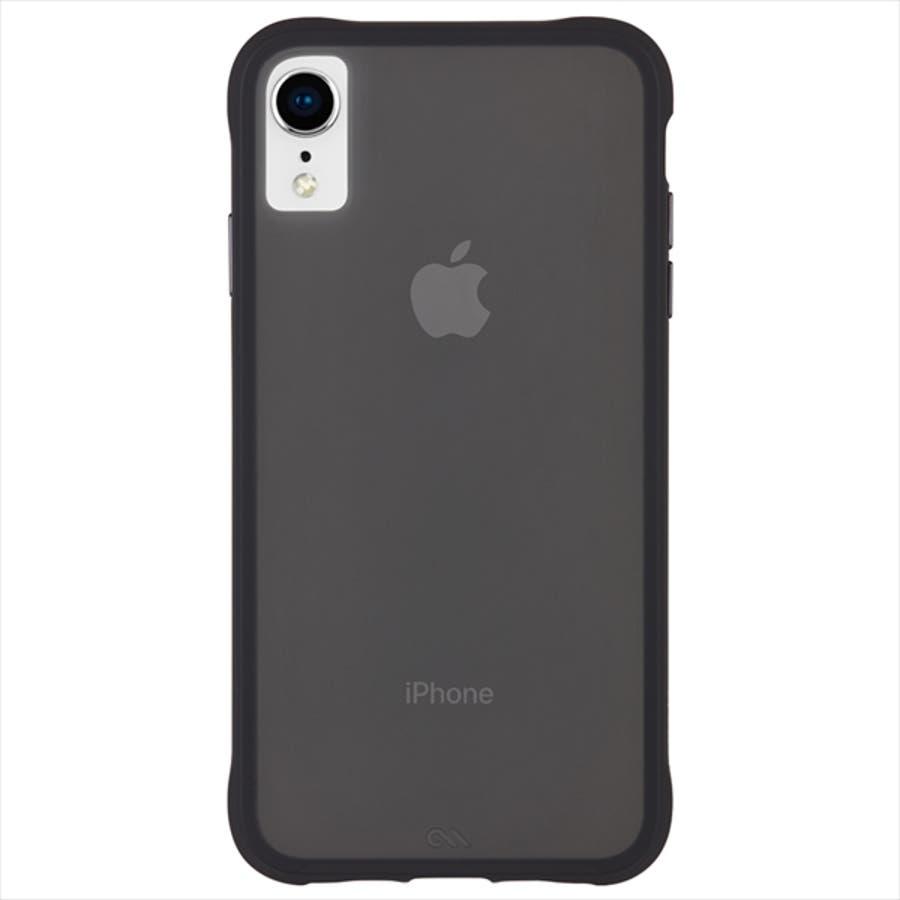 iPhoneXR対応ケース Tough-Matte Black 2