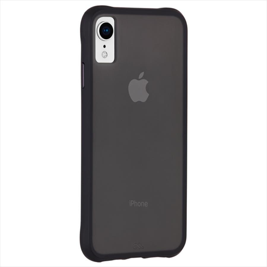 iPhoneXR対応ケース Tough-Matte Black 4