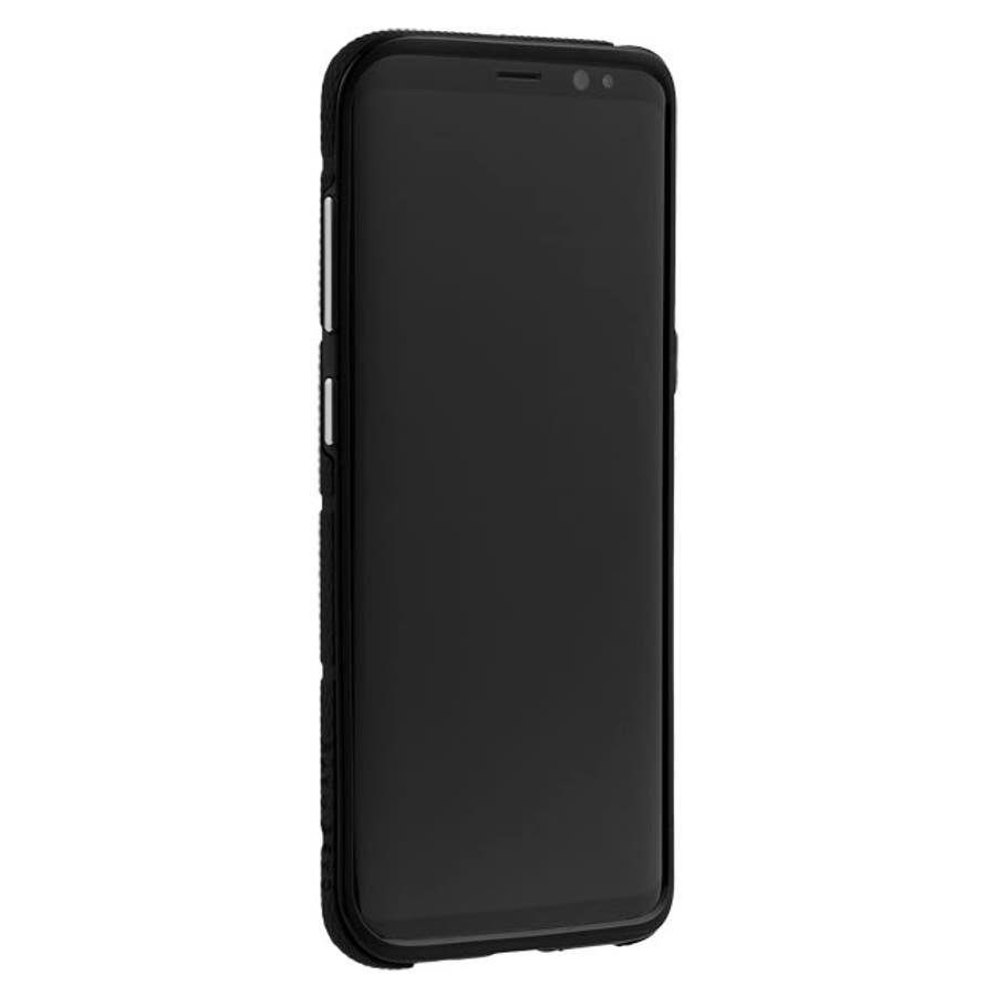 Galaxy S8対応ケース Hybrid Tough Mag-Black 5