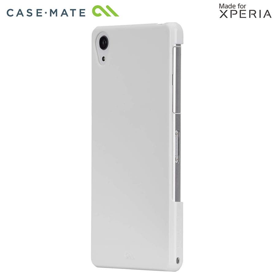 Sony Xperia Z2 対応ケース Barely There Case, Glossy White 3