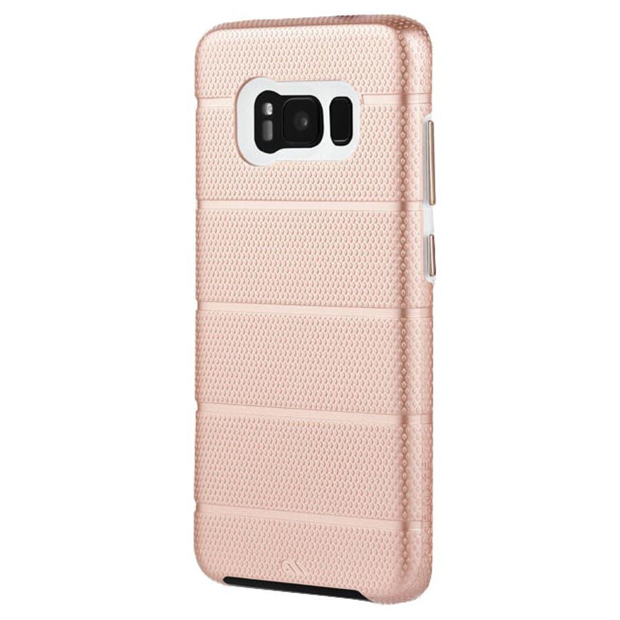 Galaxy S8対応ケース Hybrid Tough Mag-Rose Gold 2