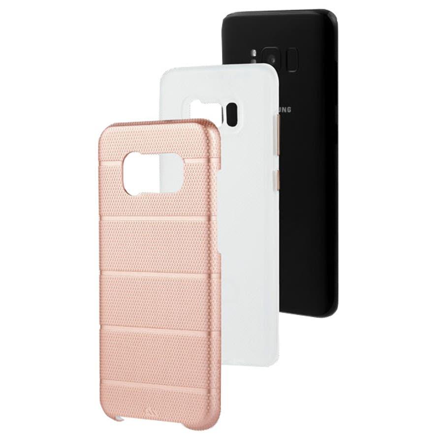 Galaxy S8対応ケース Hybrid Tough Mag-Rose Gold 1