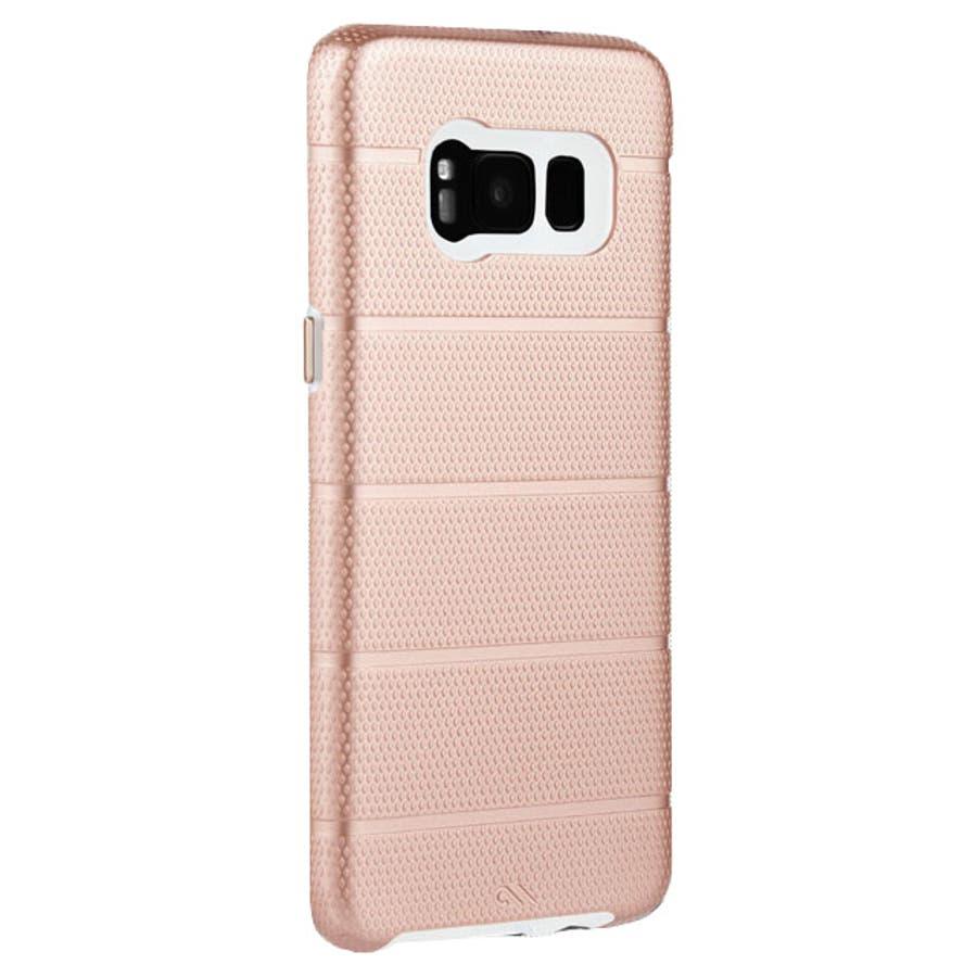 Galaxy S8対応ケース Hybrid Tough Mag-Rose Gold 3