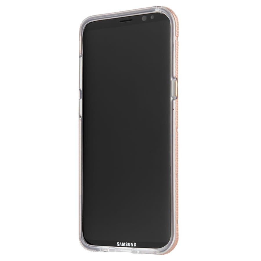 Galaxy S8対応ケース Hybrid Tough Mag-Rose Gold 4