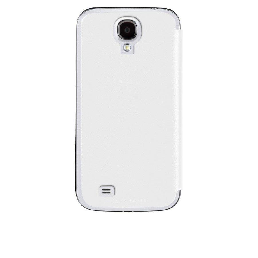 Galaxy S4 対応ケース Folio Uncover Style Case, White 1