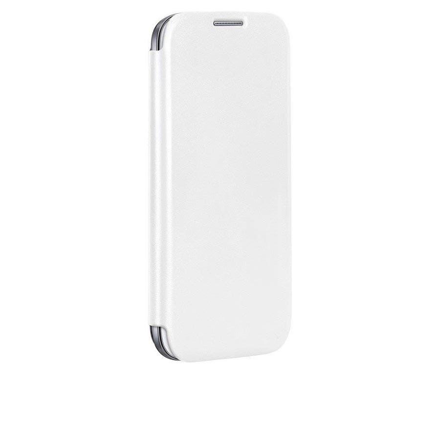 Galaxy S4 対応ケース Folio Uncover Style Case, White 2