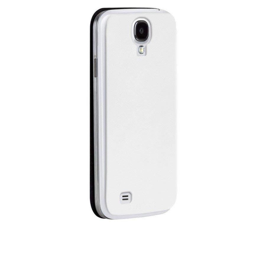 Galaxy S4 対応ケース Folio Uncover Style Case, White 4