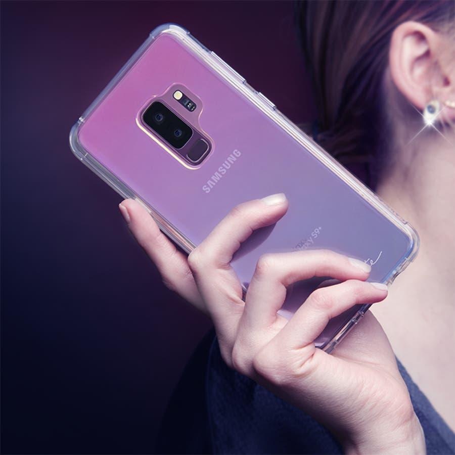 Galaxy S9+ 対応ケース Naked Tough - Iridescent 1