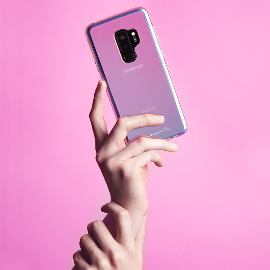 Galaxy S9+ 対応ケース Naked Tough - Iridescent 2