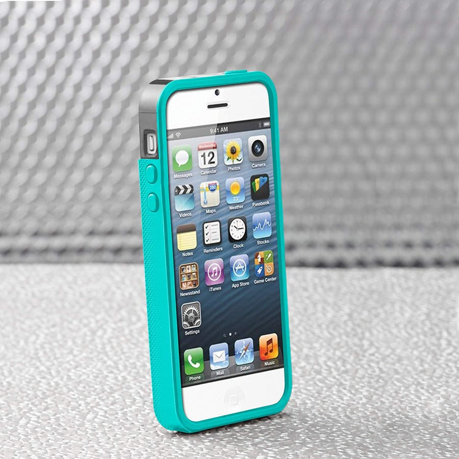 iPhone SE/5s/5 対応ケース POP! with Stand Case, Titanium Grey / PoolBlue 3