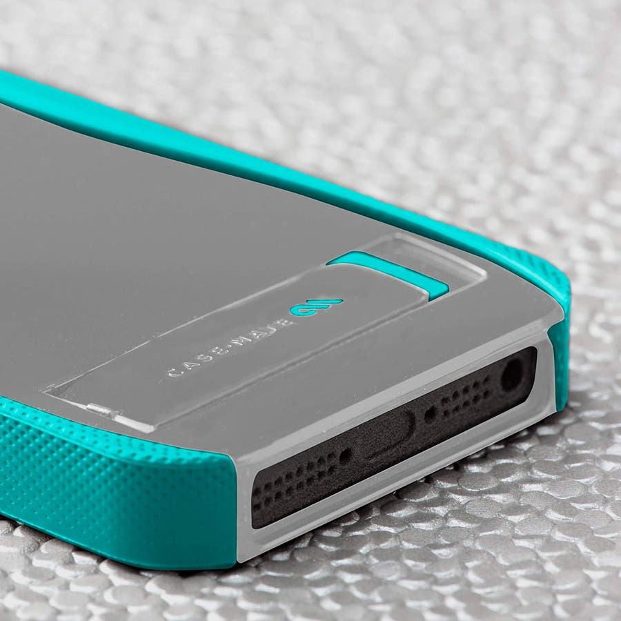 iPhone SE/5s/5 対応ケース POP! with Stand Case, Titanium Grey / PoolBlue 4