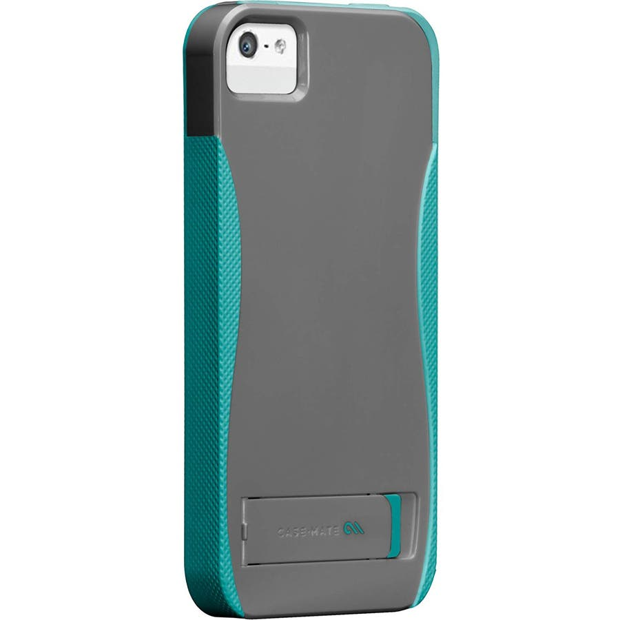 iPhone SE/5s/5 対応ケース POP! with Stand Case, Titanium Grey / PoolBlue 6