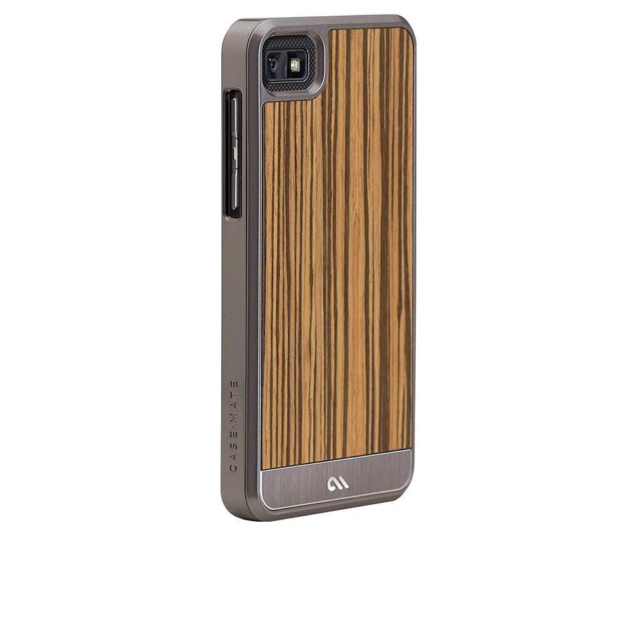 BlackBerry Z10 対応ケース Artistry Woods Case, Zebrawood 1