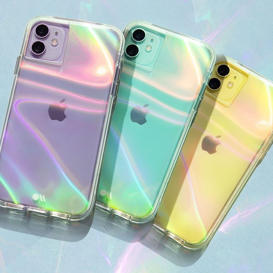 【シャボン玉をイメージした素敵なケース】 iPhone 11 Soap Bubble 1