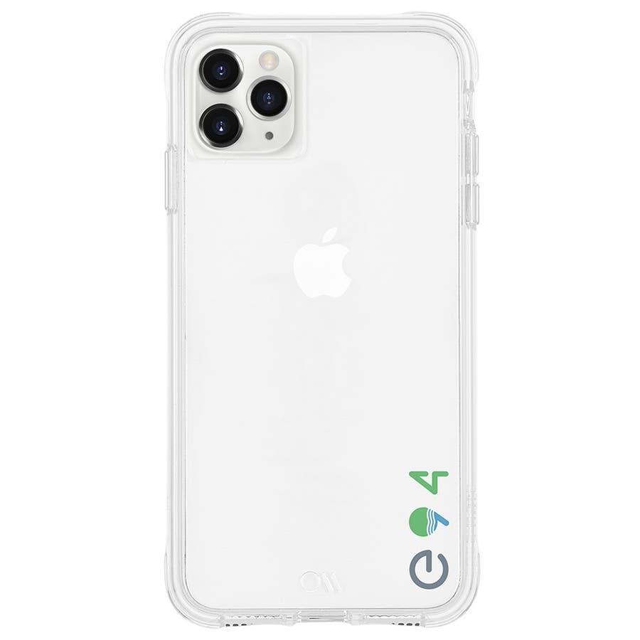 【リサイクル素材を使用】iPhone11 ProMax Case Eco94 Eco Clear 1