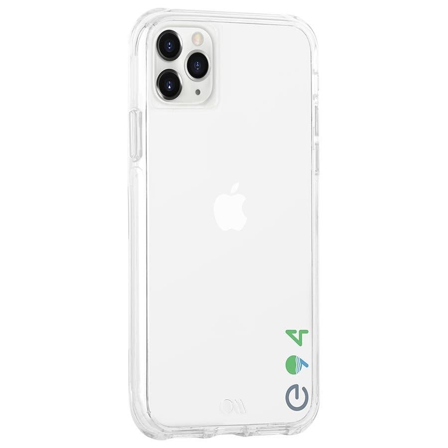 【リサイクル素材を使用】iPhone11 ProMax Case Eco94 Eco Clear 3