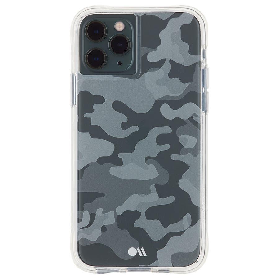 【クリア柄の迷彩柄ケース】iPhone 11 ProMax Tough Clearly Camo 1