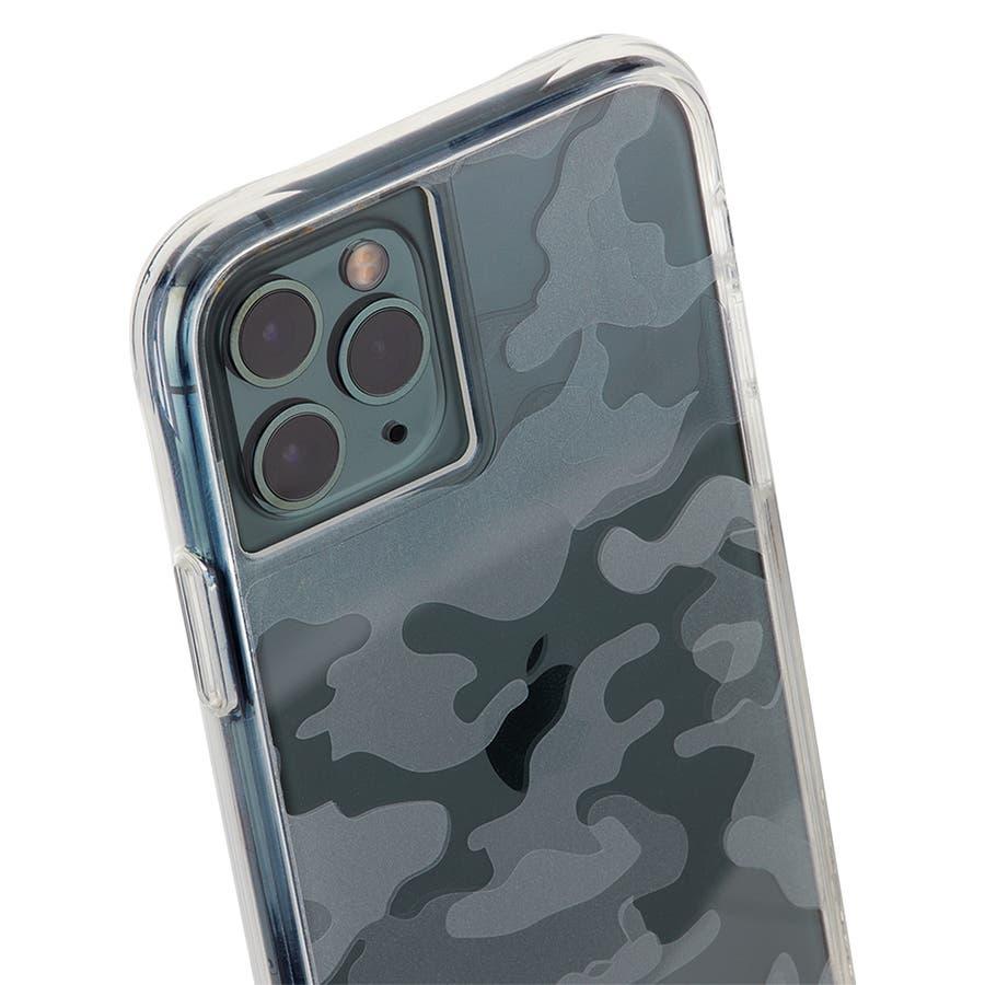 【クリア柄の迷彩柄ケース】iPhone 11 ProMax Tough Clearly Camo 4